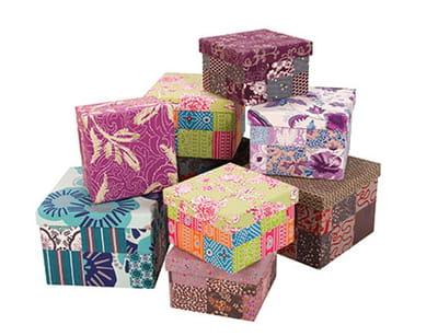 boîtes 'gigognes' de la fiancée du mékong