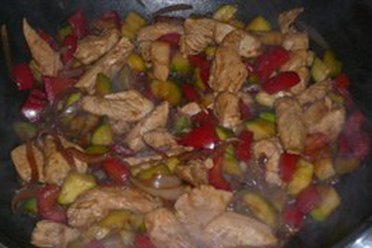 Le poulet au ricard