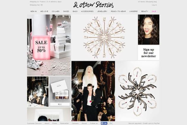Le e-shop de & Other stories