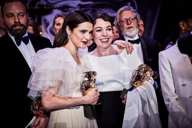 Rachel Weisz et Olivia Colman à la 72e cérémonie des BAFTA