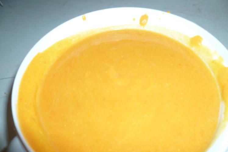 Soupe au potimarron, potiron et mascarpone