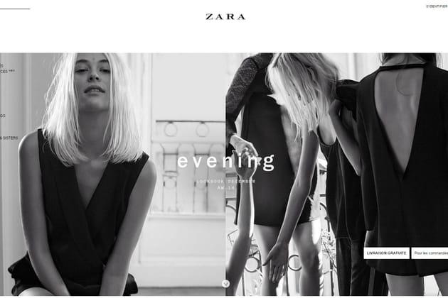 Le e-shop de Zara