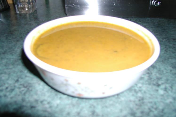 Soupe de courgettes