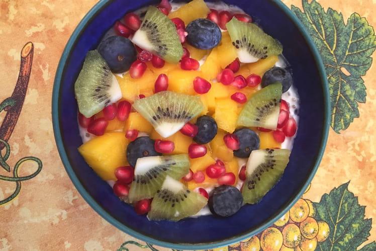 Smoothie bowl au yaourt de brebis