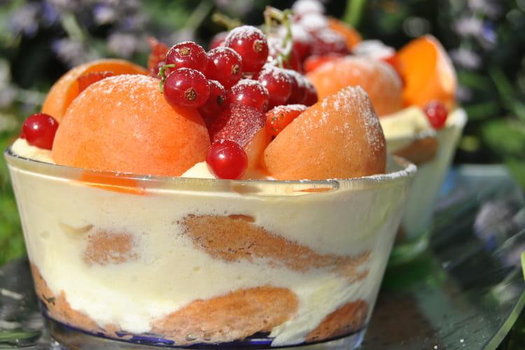Tiramisu aux fruits d'été
