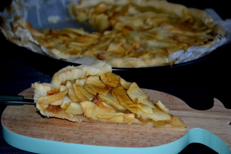 La tarte aux pommes de sous le soleil - Tarte soleil aux pommes ...