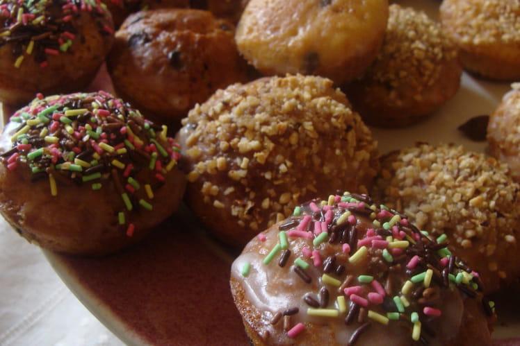 Muffins amandes et glaçage praliné