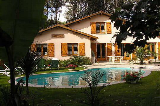 Une piscine en forme de haricot for Piscine forme haricot