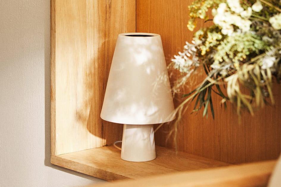 L'objet du désir: la lampe en porcelaine Zara Home