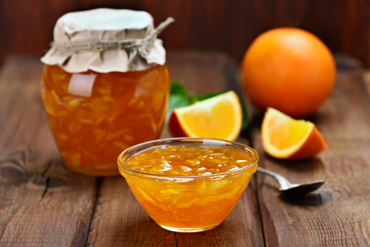 Confiture d'oranges gourmande