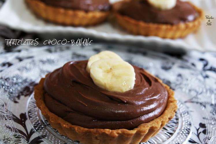 Tartelettes choco-banane