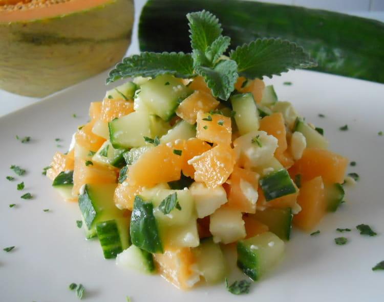 Recette de tartare de melon la recette facile for Cuisiner une entree