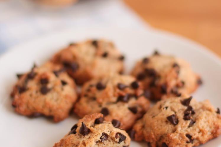 Cookies moelleux chocolat banane (vegan)