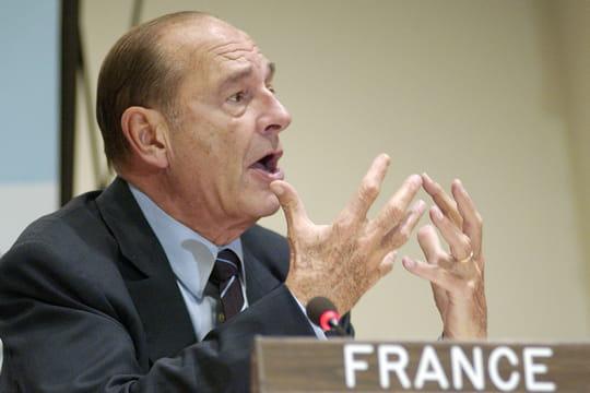 Jacques Chirac : Johannesbourg