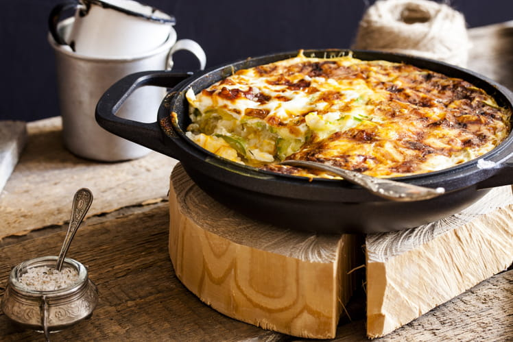 recette de gratin de courgettes au thon. Black Bedroom Furniture Sets. Home Design Ideas