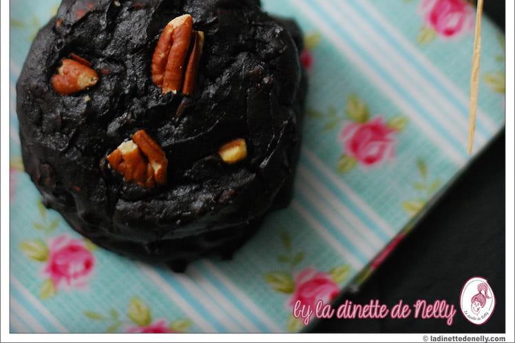 Cookies chocolat-pécan à l'avocat