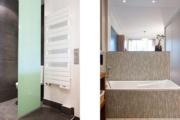 des cloisons minimales. Black Bedroom Furniture Sets. Home Design Ideas