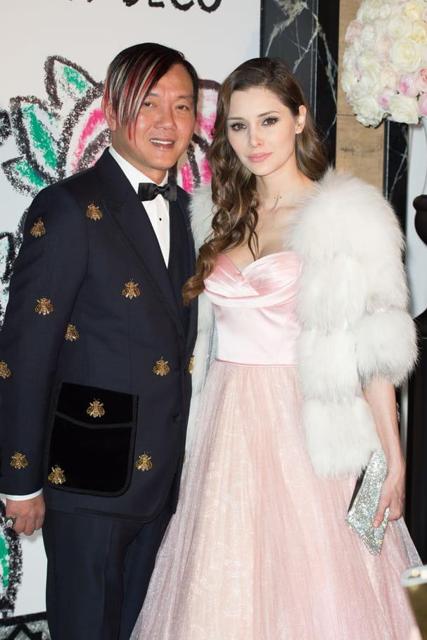 Stephen Hung et son épouse