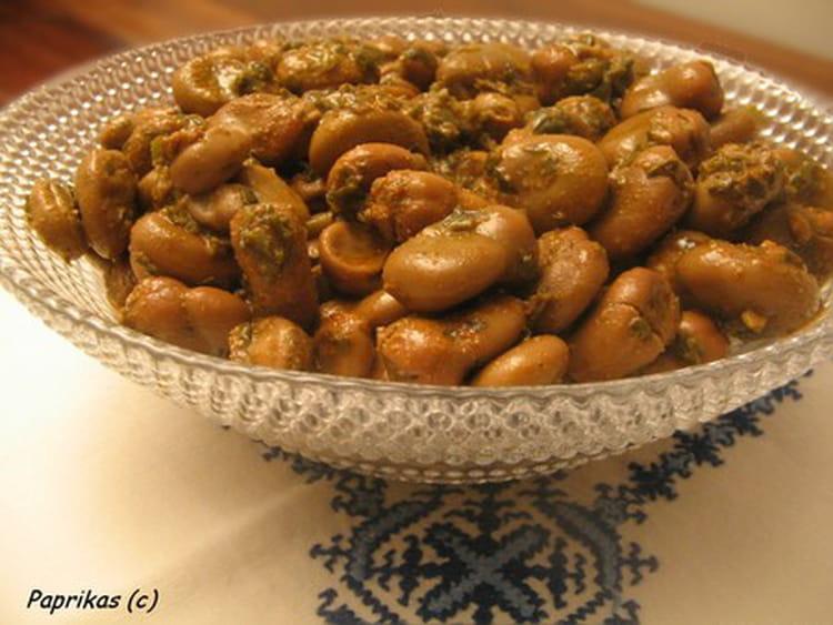 Recette de f ves la marocaine - Cuisiner les feves fraiches ...