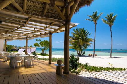 Déjeuner à Playa Blanca