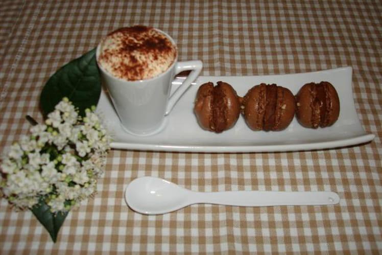 Macarons au chocolat originaux