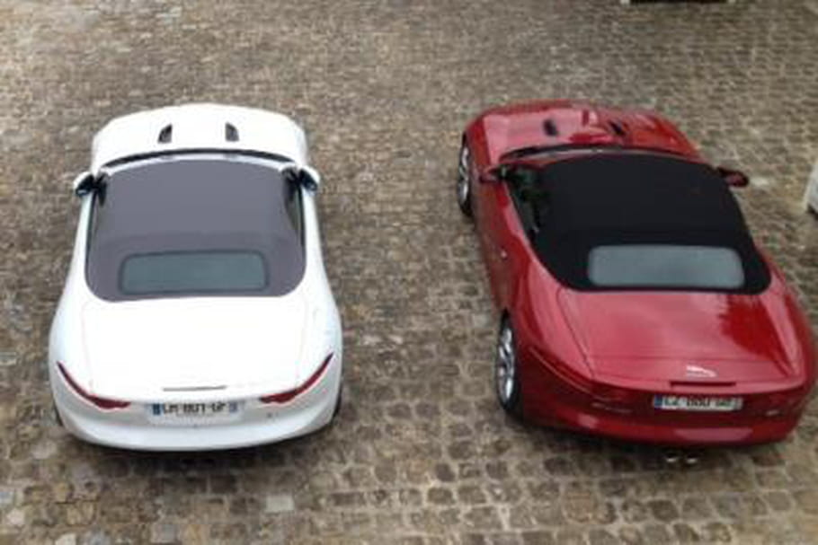 J'ai testé la Jaguar F-Type V8 S