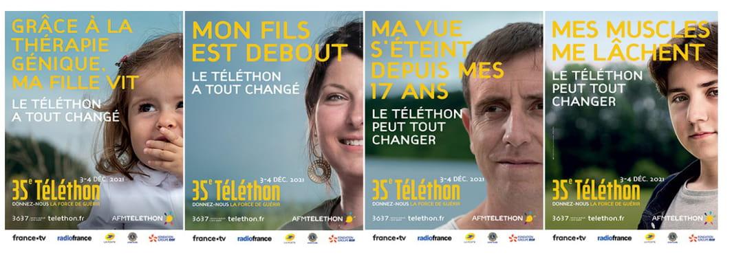 affiches téléthon 2021