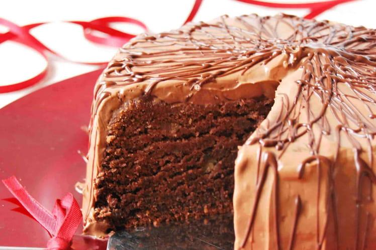 Gâteau chocolat patate douce