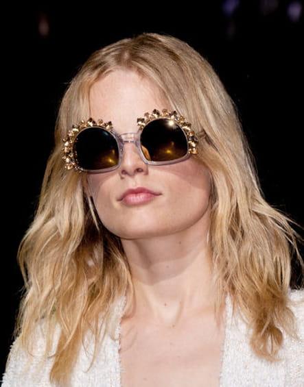 Les lunettes fantaisie de Sonia Rykiel