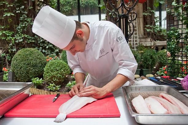 Plaza Athénée : restaurant 3 étoiles