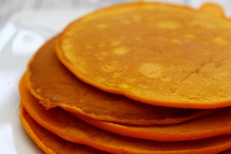Pancakes salés au potiron