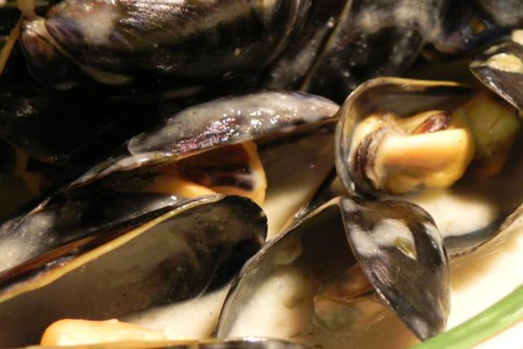 Moules au Pineau des Charentes