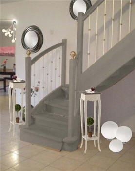 l'escalier relooké