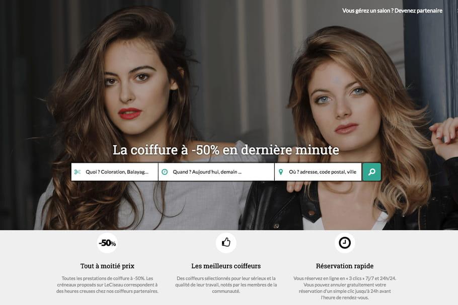 Le Ciseau.fr pour une coupe à moitié prix