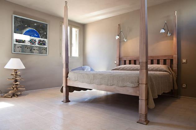 Un lit qui en impose
