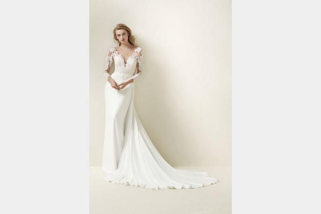 Robe de mariée Dramae de Pronovias
