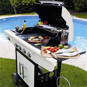le barbecue à gaz bronco