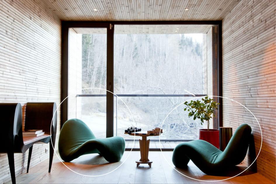 Un fauteuil d'Olivier Mourgue