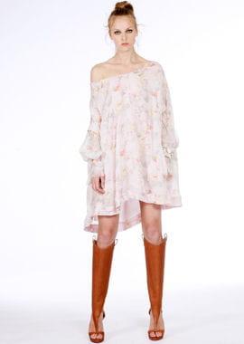 la robe fleurie d'ungaro