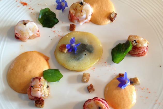 La cuisine gastronomique du Koh-I Nor