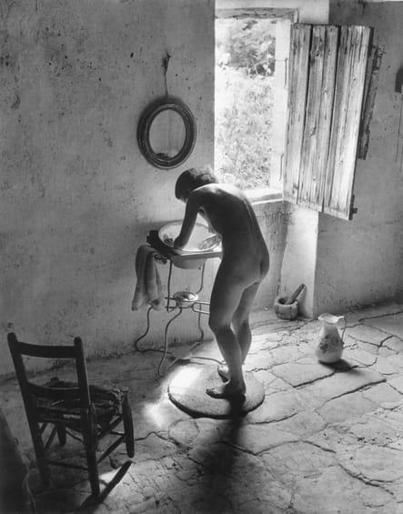 Le nu provençal - Gordes, été 1949