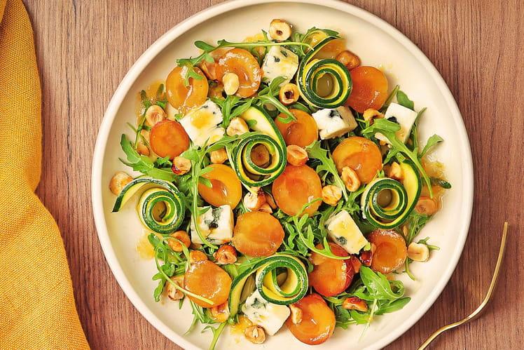 Salade de Mirabelles de Lorraine et vinaigrette pamplemousse