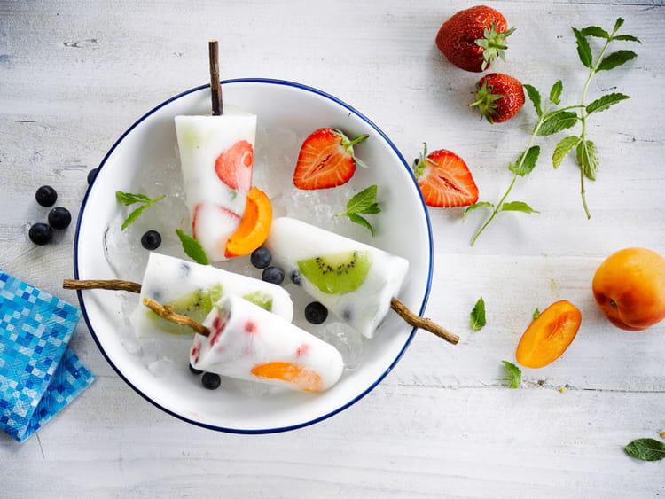 recette de glace aux fruits aux herbes et alpro coco original la recette facile. Black Bedroom Furniture Sets. Home Design Ideas