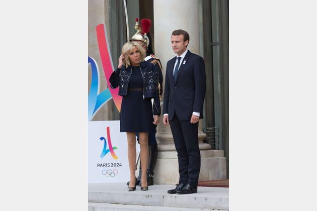 Brigitte Macron le 15septembre 2017