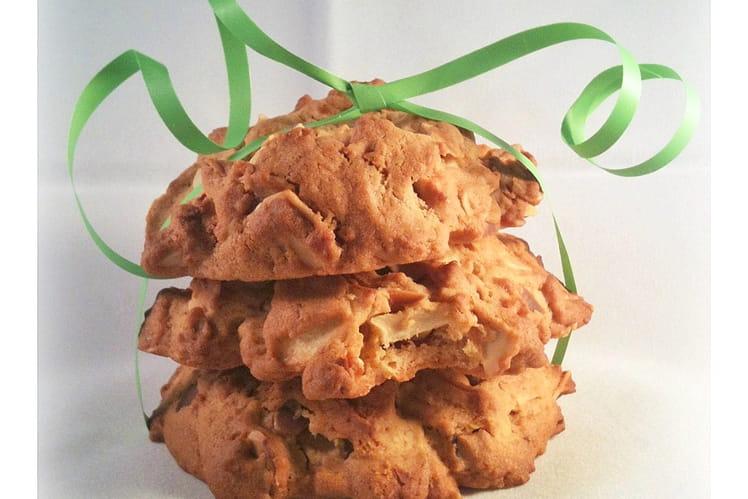 Cookies pomme, amande et caramel