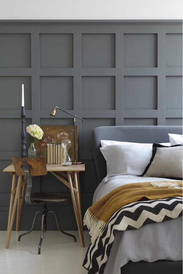 peinture scree par little greene quelle couleur de peinture pour ma chambre journal des femmes. Black Bedroom Furniture Sets. Home Design Ideas