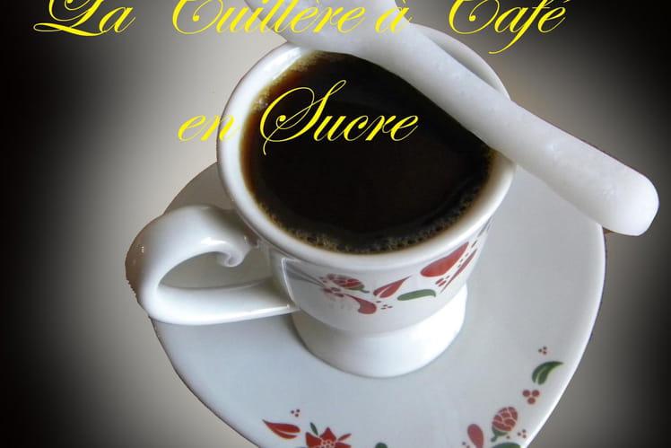 Cuillères à café en sucre masse