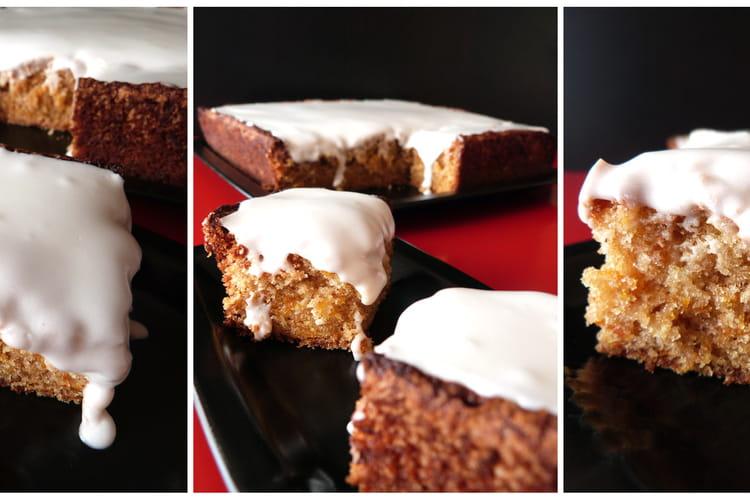 Carrot Cake et son glaçage au St-Môret