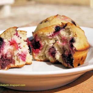 muffins au quinoa et fruits rouges