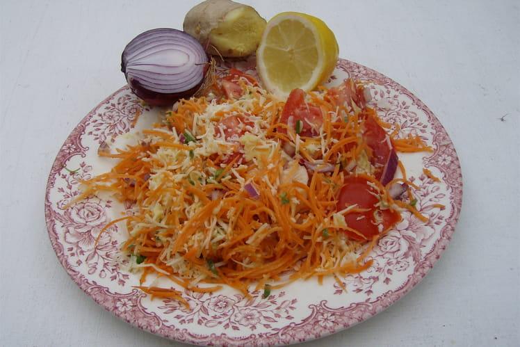 Salade en couleur
